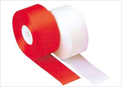 カット用紅白テープ
